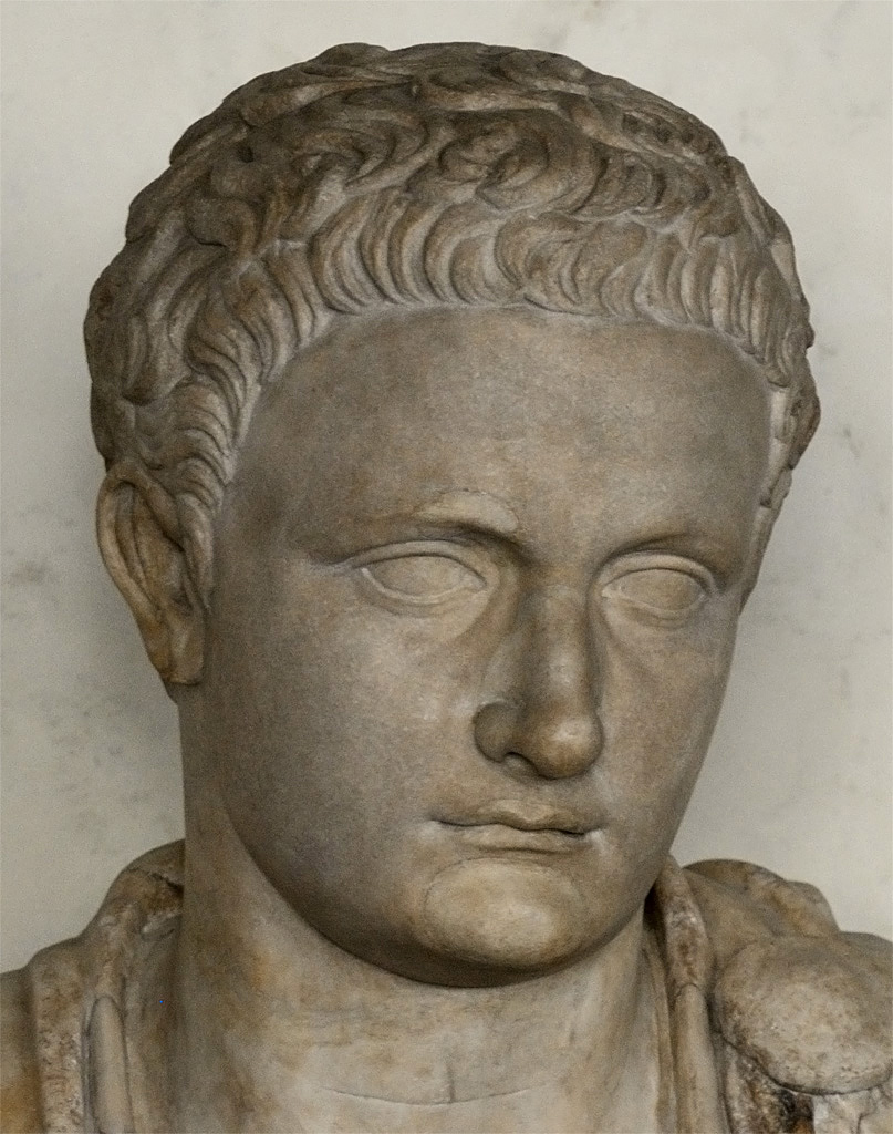 Domitian. Greek marble. 88—96 CE. Inv. No. 130 (1914). Florence, Gallery of Uffizi