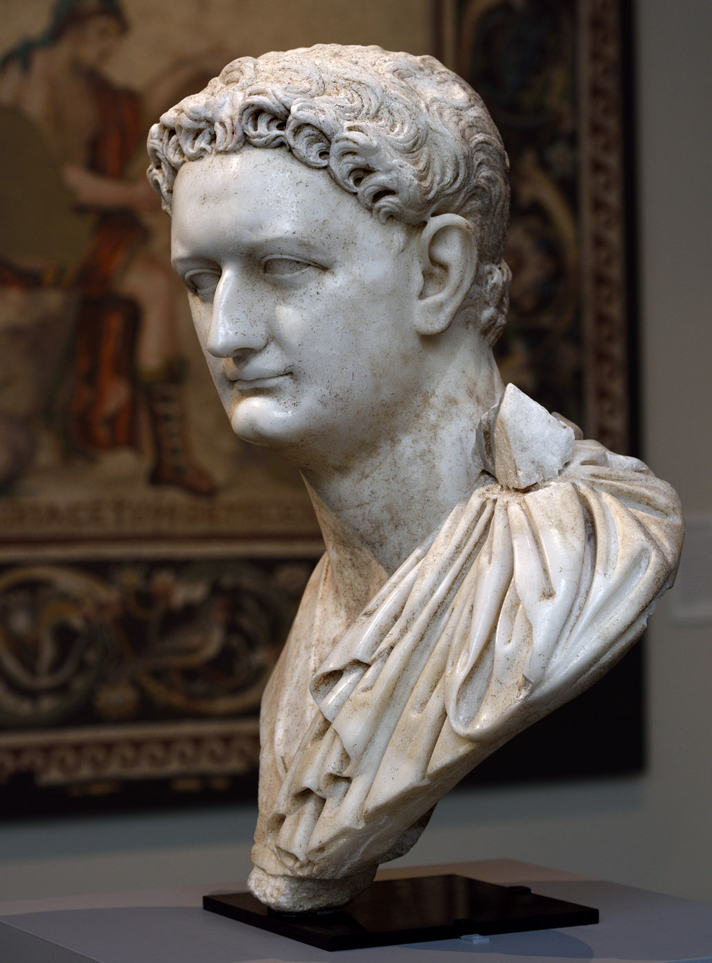 Domitian. Marble. Ca. 90 CE. Inv. No. I.2015.40. New York, the Metropolitan Museum of Art