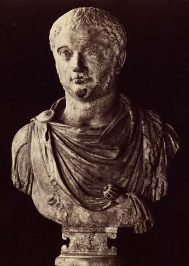 Elagabalus. Marble. Rome, Capitoline Museums, Palazzo Nuovo, Hall of the Emperors