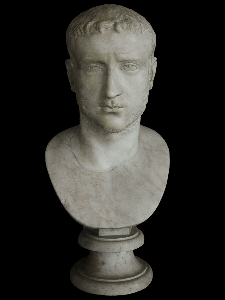 Gallienus. Marble. 253—268 CE. Inv. No. MC360. Rome, Capitoline Museums, Palazzo Nuovo, Hall of the Emperors
