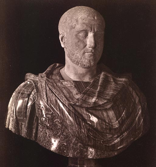 Gordian the Younger, son of Gordianus the Africanus.  Rome, Capitoline Museums, Palazzo Nuovo, Hall of the Emperors