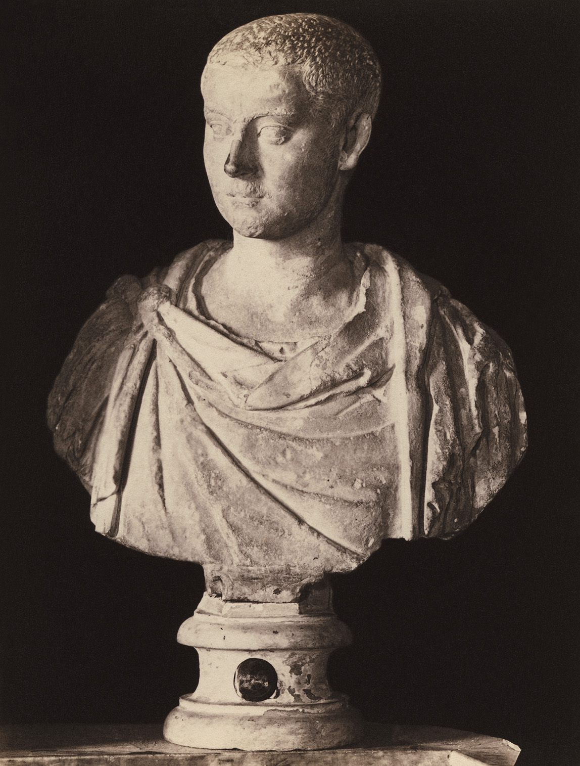 Gordian Pius, the son of Gordian the Younger. Marble. Rome, Capitoline Museums