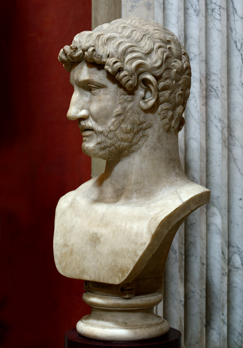 Hadrian. Marble. After 138 CE. Inv. No. 253. Rome, Vatican Museums, Pius-Clementine Museum, Round Room, 7