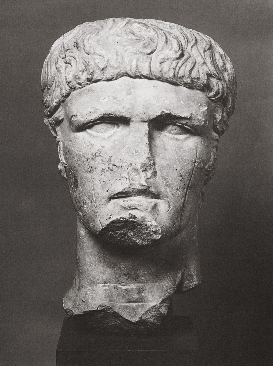 Portrait of a member of the Julio-Claudian dynasty. Marble. 40—50 CE.  Inv. No. 667. Cologne, Romano-Germanic Museum