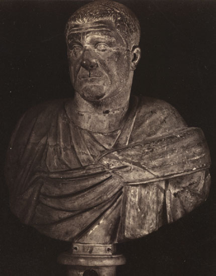Julius Maximinus. Marble. Rome, Capitoline Museums, Palazzo Nuovo, Hall of the Emperors