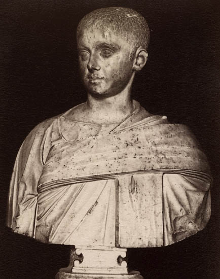 Philip the Younger. Marble. Rome, Capitoline Museums, Palazzo Nuovo, Hall of the Emperors