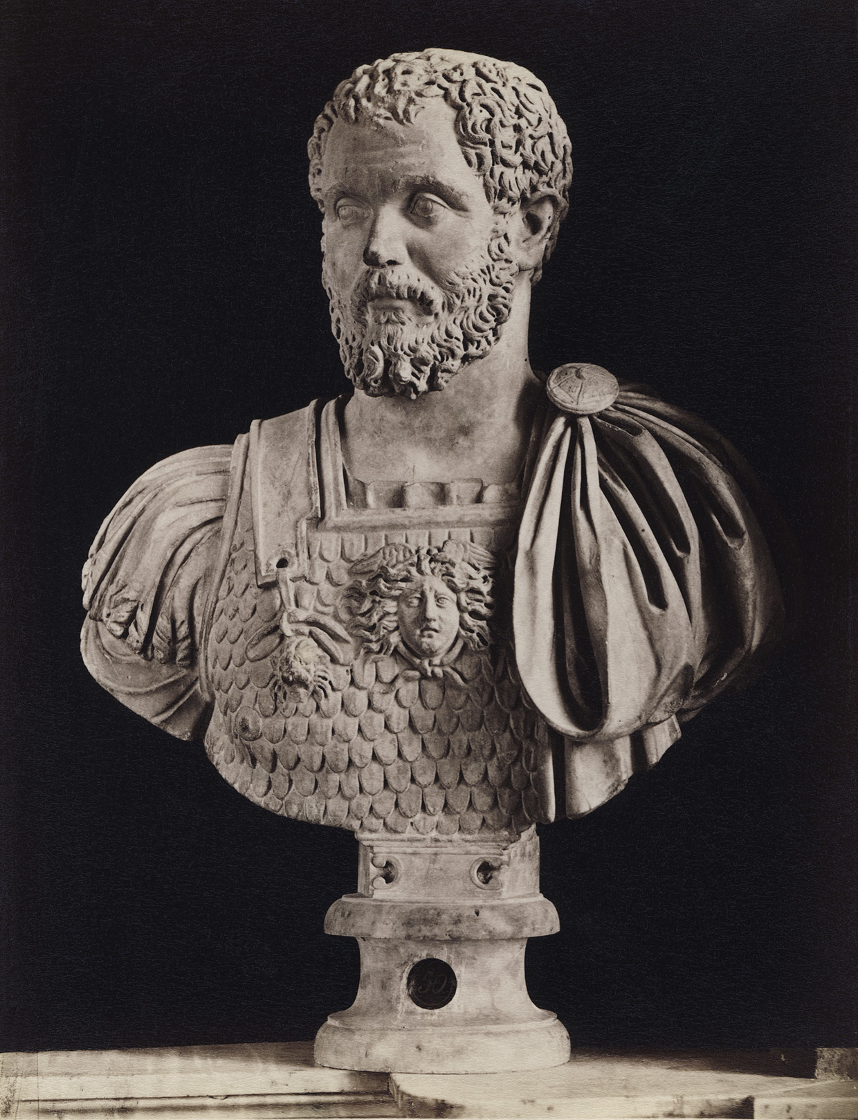Septimius Severus. Marble. Rome, Capitoline Museums, Palazzo Nuovo, Hall of the Emperors