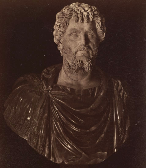 Septimius Severus.  Rome, Capitoline Museums, Palazzo Nuovo, Hall of the Emperors