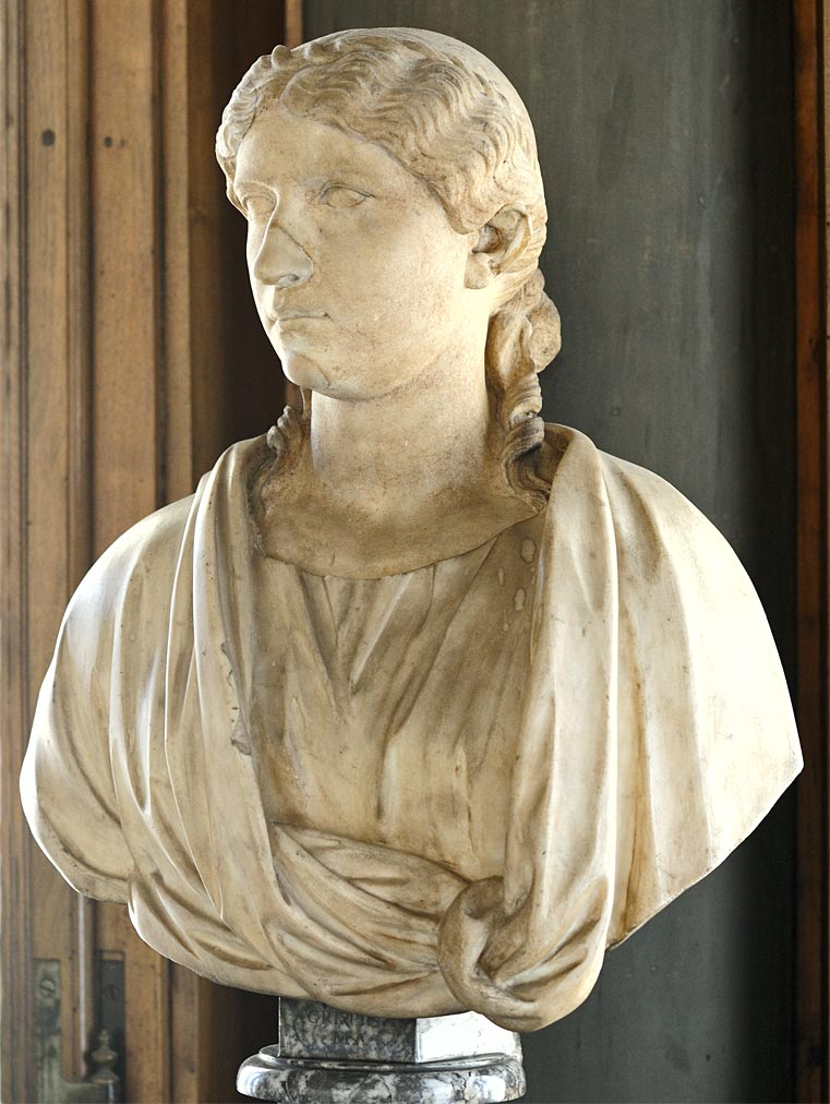 Agrippina the Elder. Marble. 5—44 CE. Inv. No. 89 (1914). Florence, Gallery of Uffizi