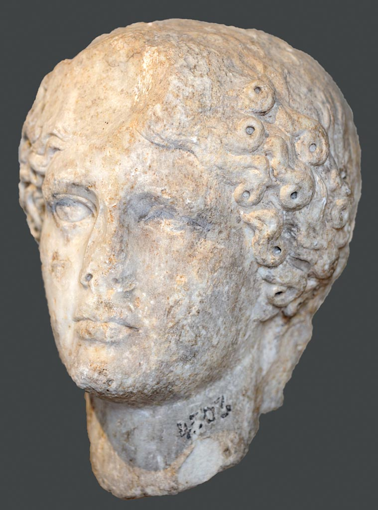 Head of Agrippina the Elder. Marble. First half of the 1st century CE. Inv. No. 4503 T. Istanbul, Archaeological Museum