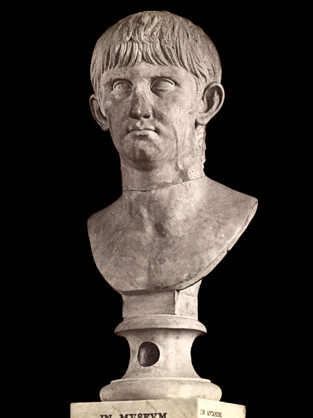 Drusus the Younger, the son of Tiberius. Marble. 1st century. Rome, Capitoline Museums, Palazzo Nuovo, Hall of the Emperors