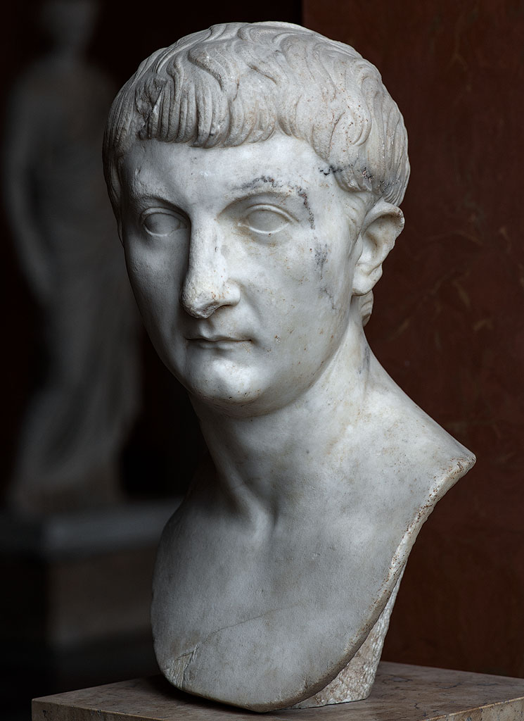 Drusus the Younger. Marble. Ca. 21 CE. Inv. No. CP 6460 / Ma 1240. Paris, Louvre Museum