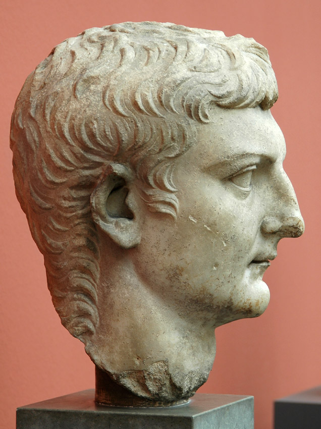 Head of Germanicus. Marble. After 19 CE. Height 34 cm. Inv. No. 756. Copenhagen, New Carlsberg Glyptotek