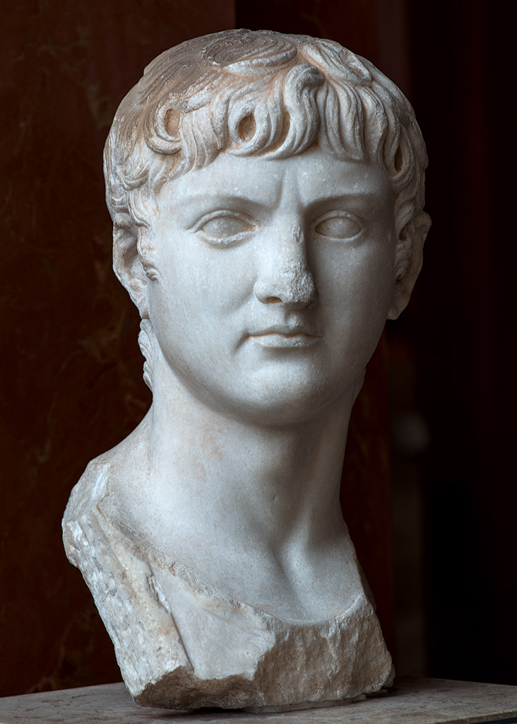 Germanicus. Marble. After 4 CE. Inv. No. MND 968 (Ma 3135) Paris, Louvre Museum
