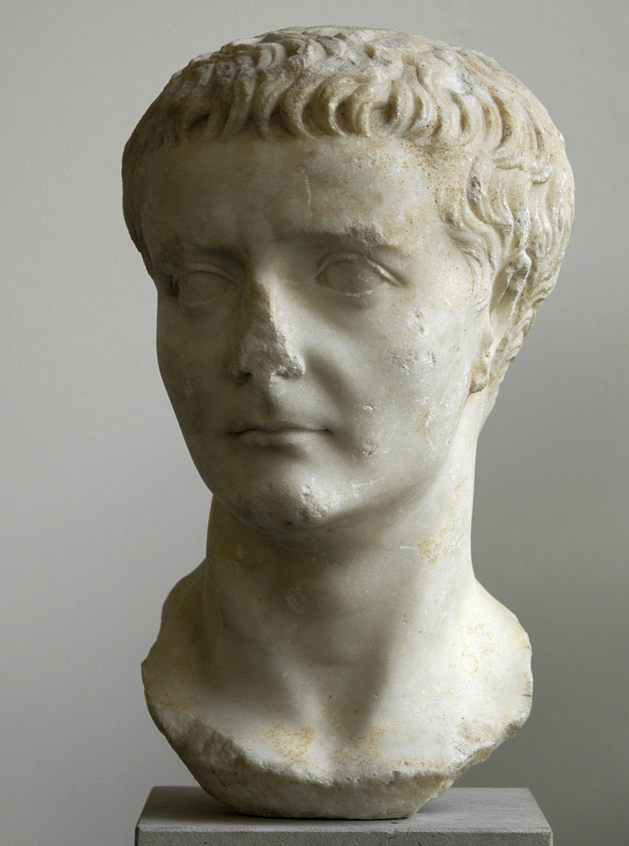 Portrait of Tiberius. Marble. First half of the 1st century CE. Berlin, State Museums, Pergamon Museum