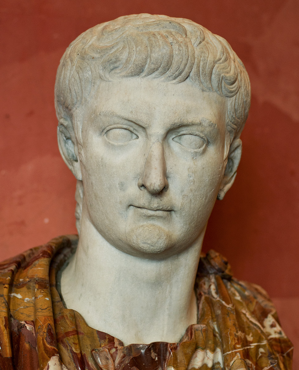 Portrait of Tiberius. Marble. First quarter of the 1st century CE. Inv. No. A.54. Saint Petersburg, The State Hermitage Museum