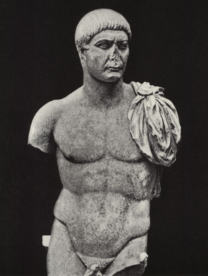 Statue of Trajan. Marble. Early 2nd century. Copenhagen, New Carlsberg Glyptotek