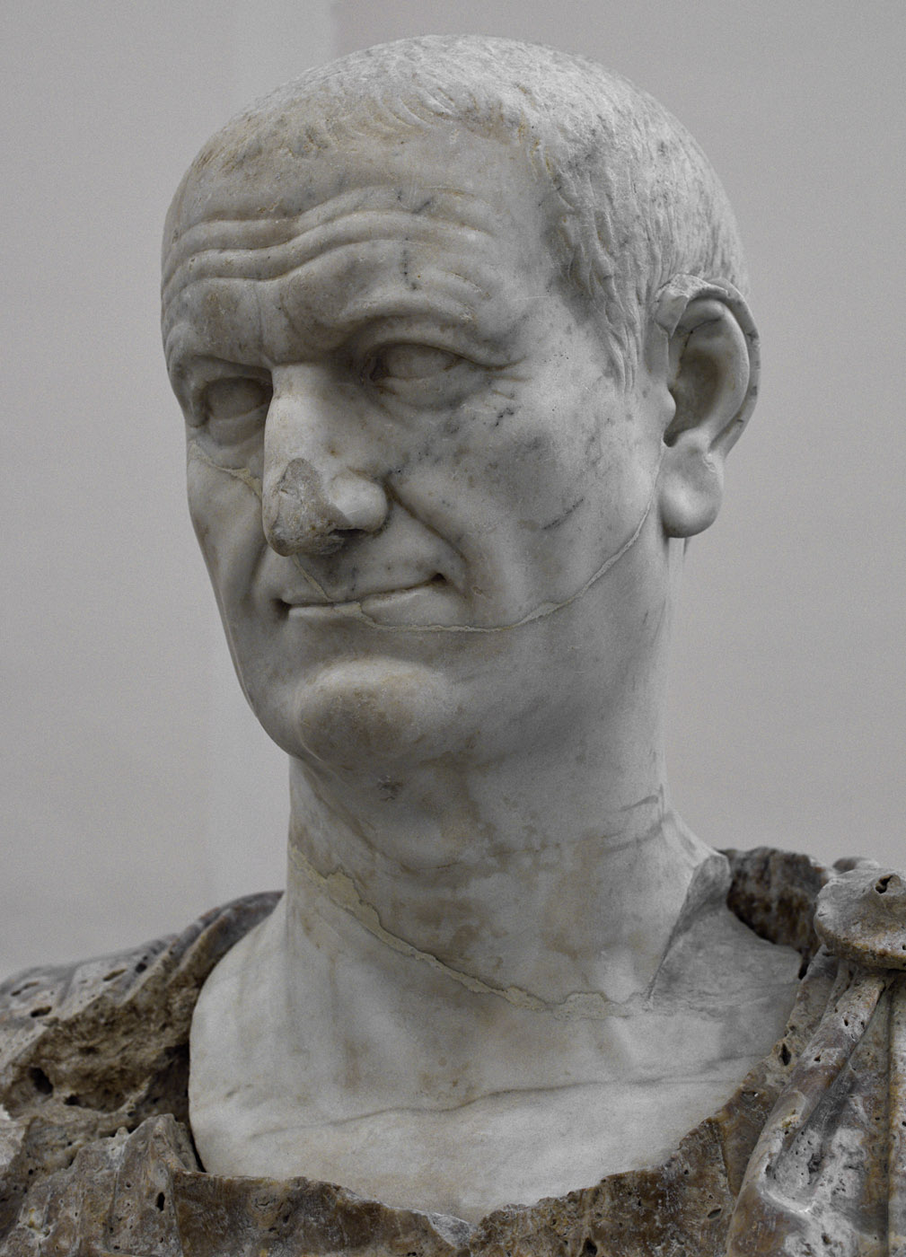 Vespasian. Marble. Ca. 80 CE. Inv. No. s.n. Naples, National Archaeological Museum