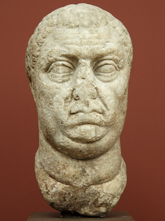 Vitellius. Marble. 69 CE. Height 52 cm. Inv. No. 3167. Copenhagen, New Carlsberg Glyptotek