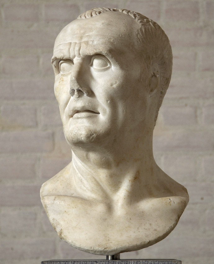 Male portrait, so-called Gaius Marius. Marble. Copy of the Augustan age from a portrait of the 2nd century BCE.  Inv. No. 319. Munich, Glyptotek