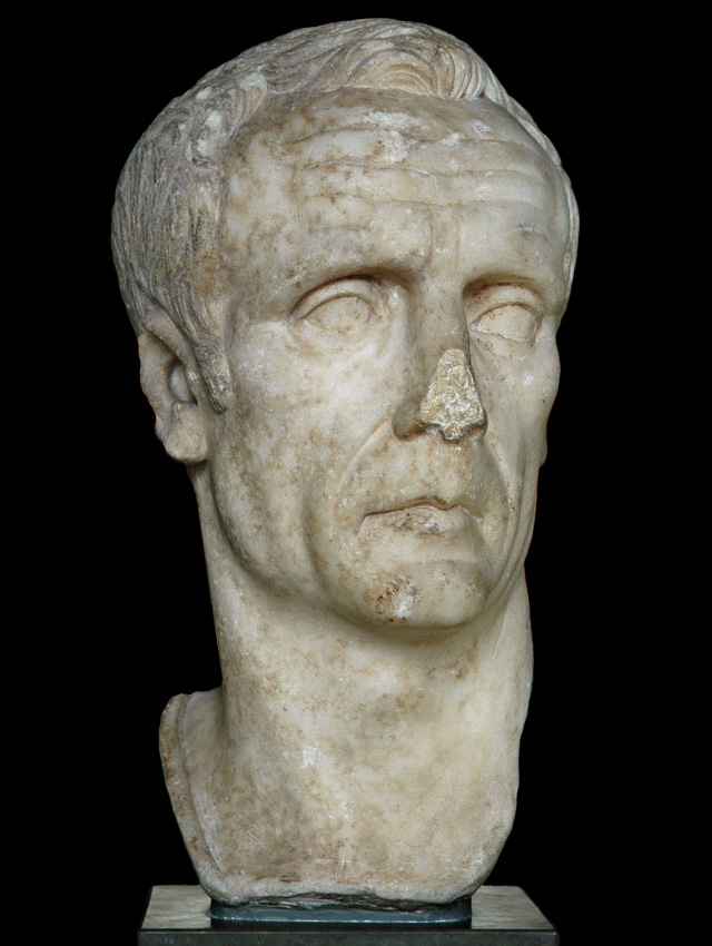 Lucius Cornelius Sulla Felix? Marble. Copy of the 1st century CE of an original c. 80—50 BCE. Inv. No. 1811. Copenhagen, New Carlsberg Glyptotek