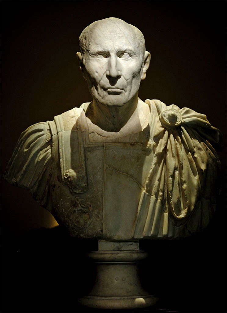 Portrait of a republican. Marble. Mid-1st century BCE. Inv. No. I 115. Vienna, Museum of Art History