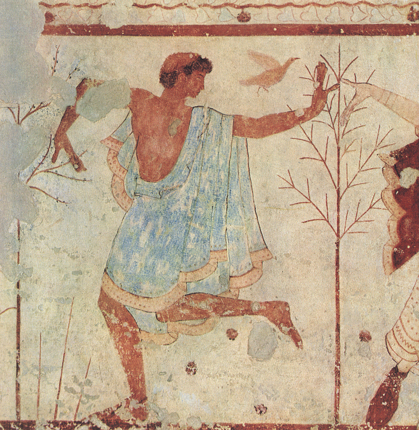 Dancer. 5th century BCE. Tarquinia, Tomb of the Triclinium