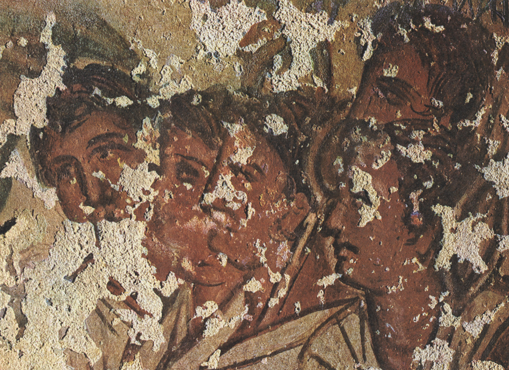 Procession, going to the afterlife. 1st century BCE. Tarquinia, Tomb of the Typhon