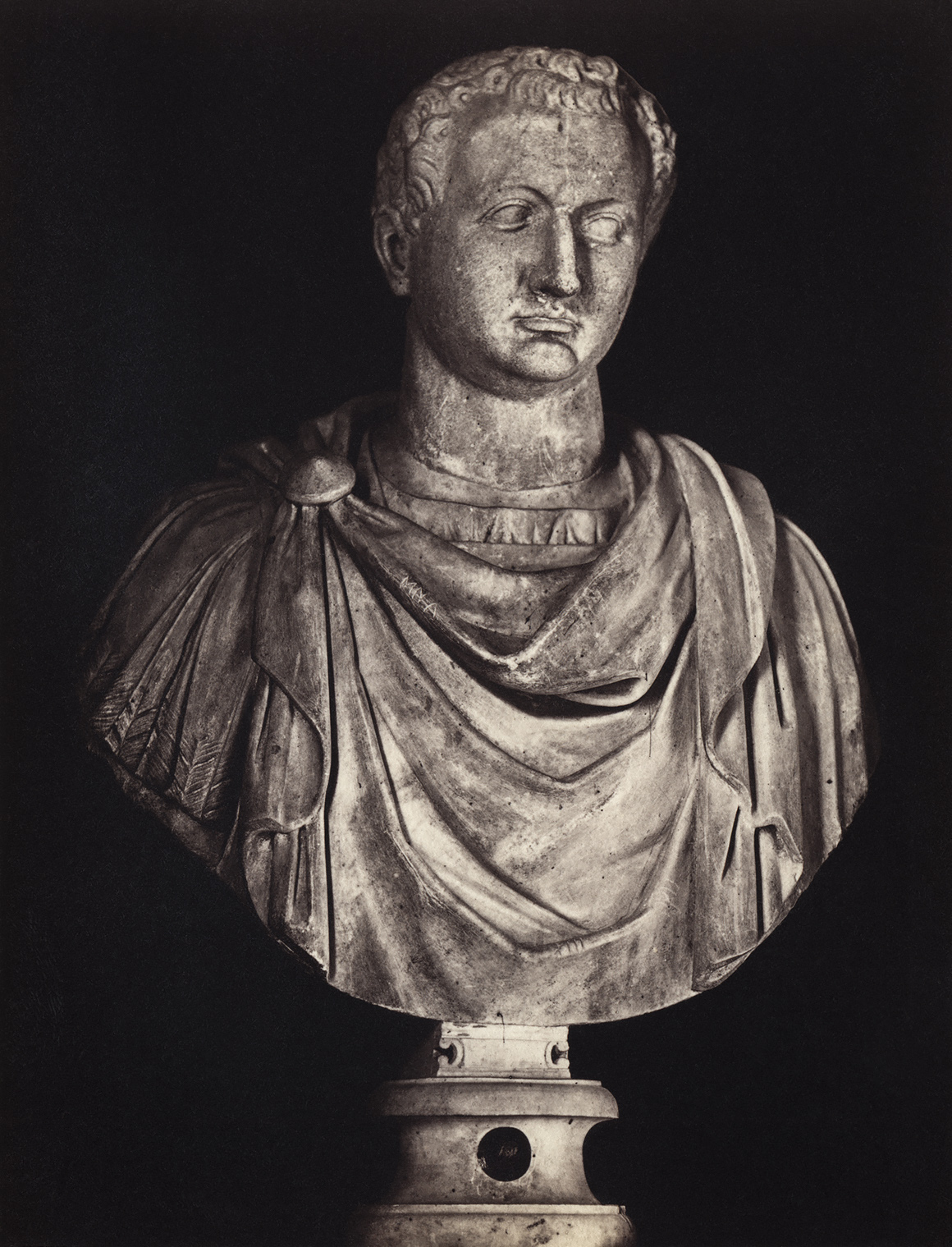 Titus. Marble. Rome, Capitoline Museums, Palazzo Nuovo, Hall of the Emperors