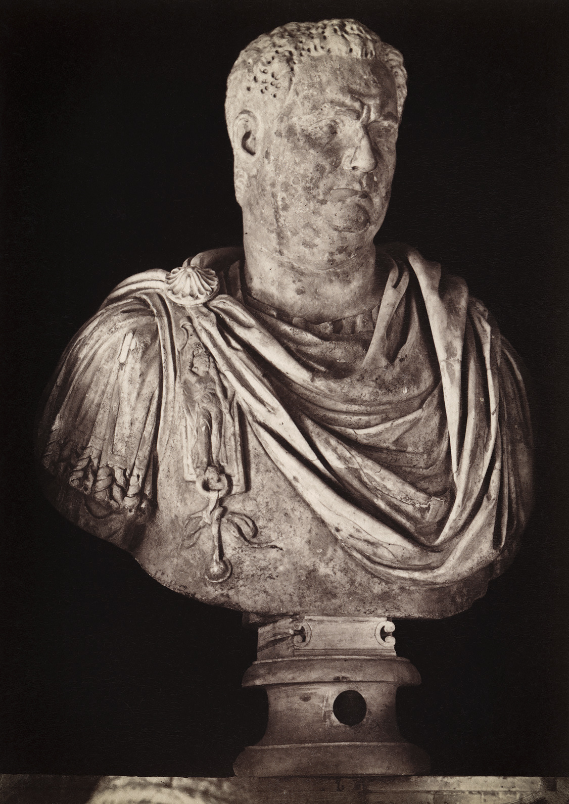 Aulus Vitellius. Marble. Rome, Capitoline Museums, Palazzo Nuovo, Hall of the Emperors