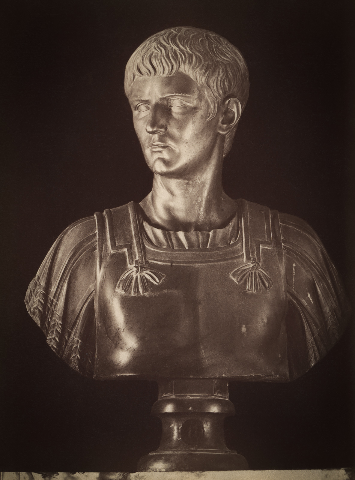Caligula, the son of Germanicus. Basalt. 17th cent. (?) Inv. No. 2356. Rome, Capitoline Museums