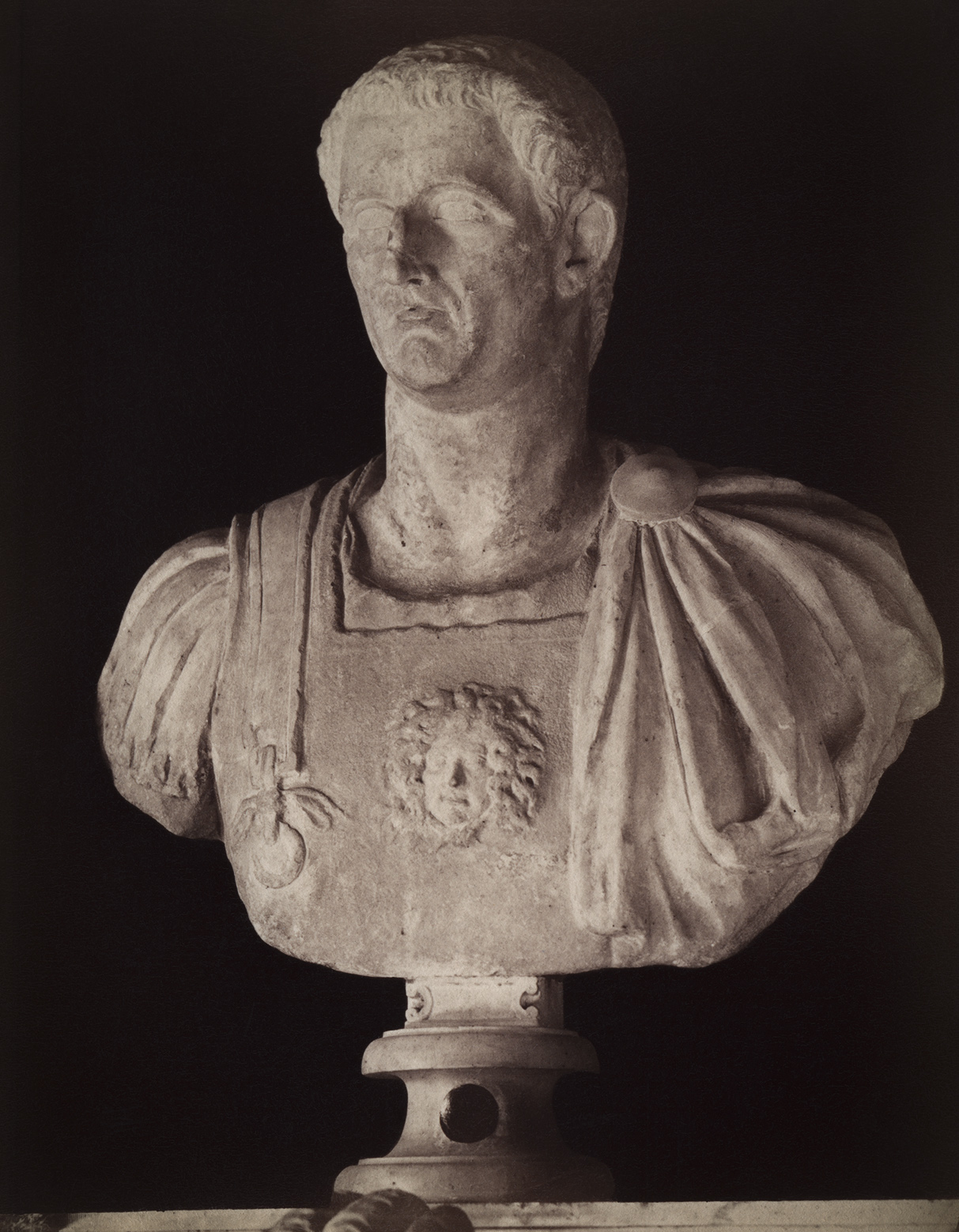 Claudius, the son of Drusus. Marble. 1st century. Rome, Capitoline Museums, Palazzo dei Conservatori, Green Room