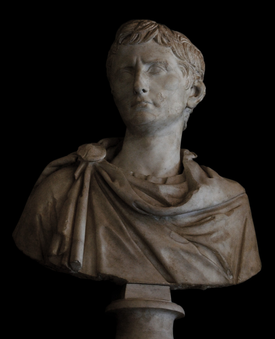 Octavian. Marble. 35—29 BCE.  Inv. No. MC413. Rome, Capitoline Museums, Palazzo Nuovo, Hall of the Emperors