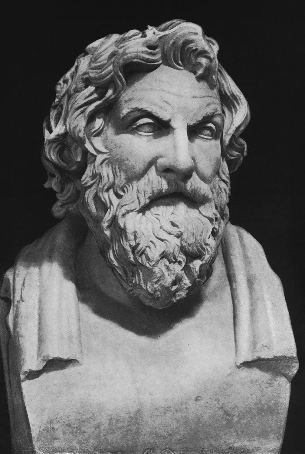 Term of Antisthenes. Marble. No. 507. Rome, Vatican Museums, Pius-Clementine Museum, Room of the Muses, 52