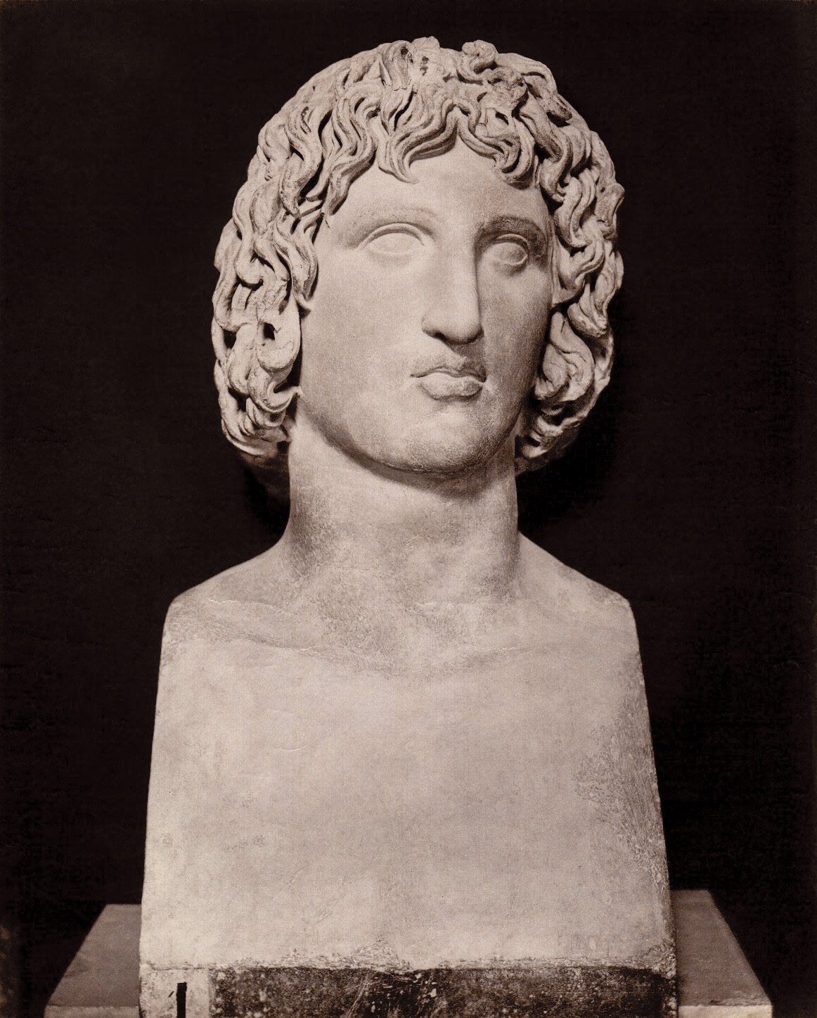 Herm of Vergilius. Marble. Rome, Capitoline Museums, Palazzo Nuovo, Gallery