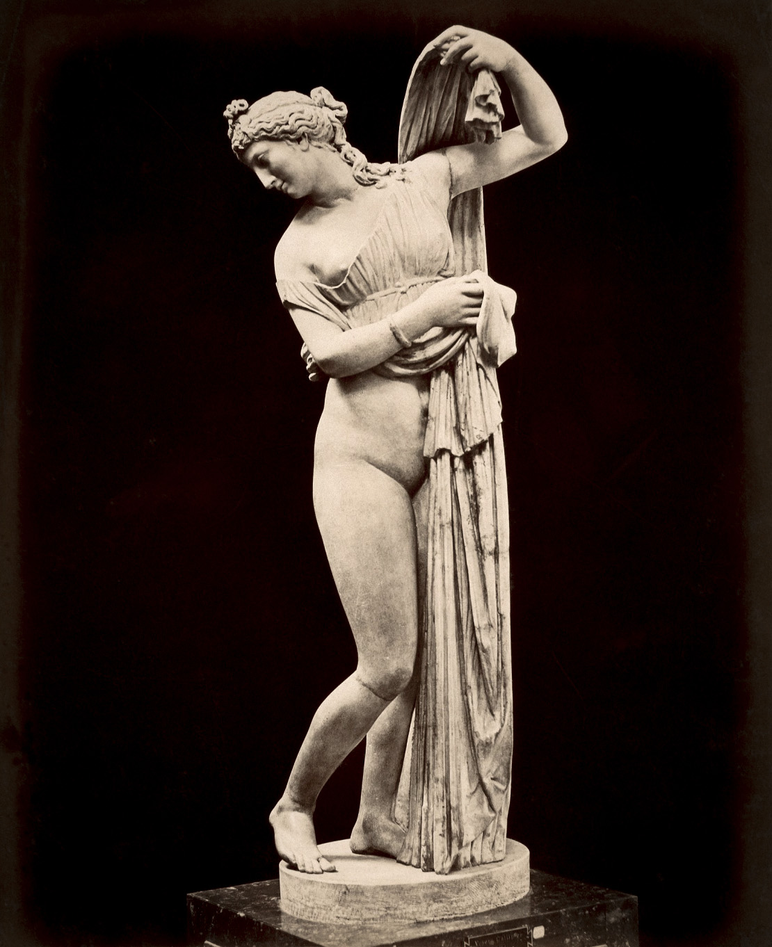 The Venus Callipyge. Marble. Naples, National Archaeological Museum