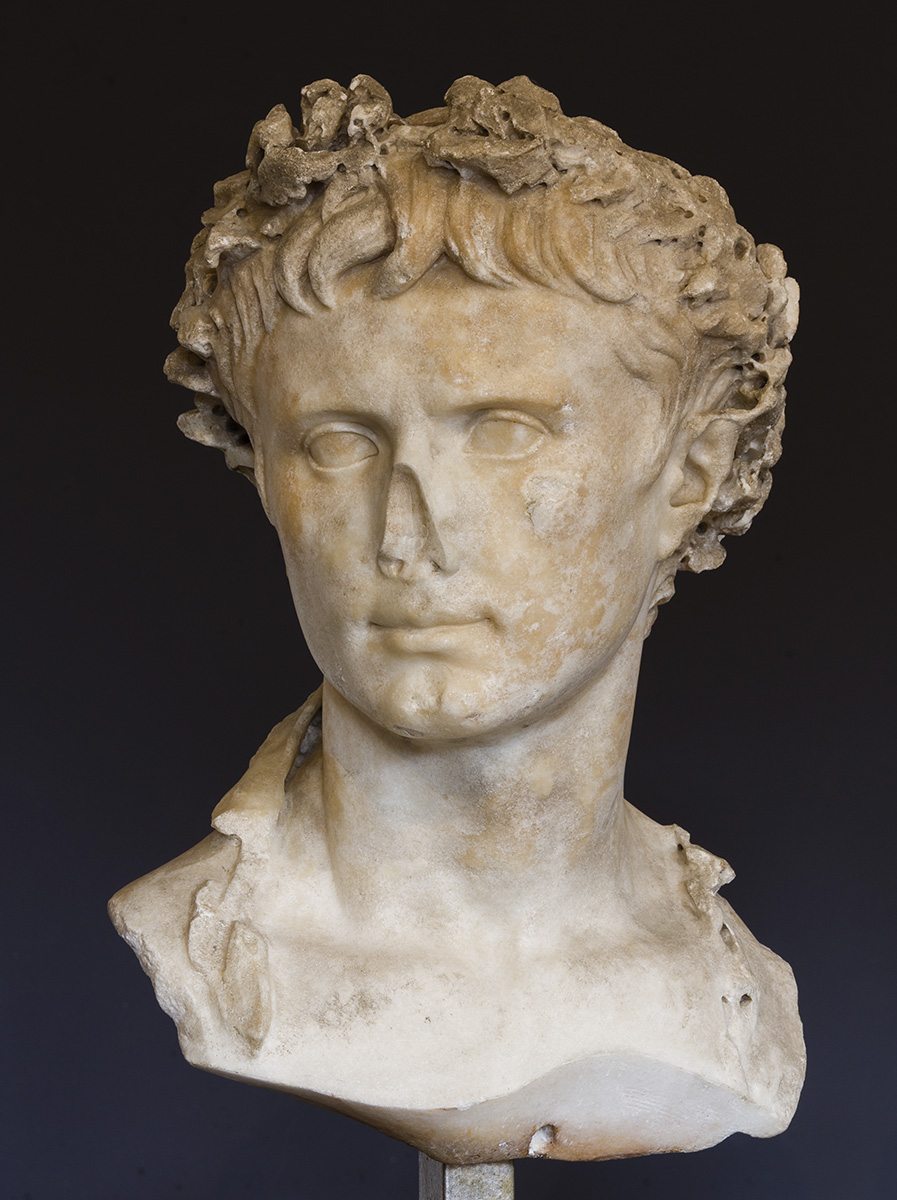 Bust of Augustus. The Prima Porta type. Marble. Ca. 20 BCE? Inv. No. Ra 57. Toulouse, Saint Raymond Museum