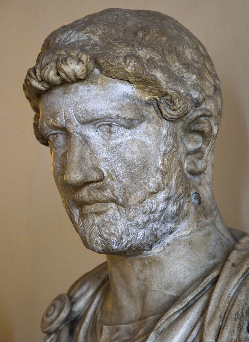 Hadrian. Marble. After 138 CE. Inv. No. 125. Venice, National Archaeological Museum